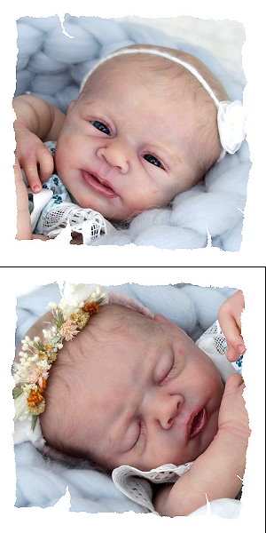 20.06.2018 - Neuvorstellung Angel und Angelina by Angela Degner! / New baby kits Angel and Angelina by Angela Degner!