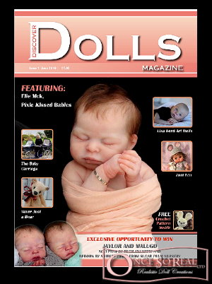 01.07.2019 - Neues Discover Dolls Magazin wird ausgeliefert! / New Discover Dolls Magazine will be shipped now!